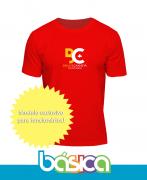 Camiseta Manga Curta Professores - Colégio Brasil Canadá