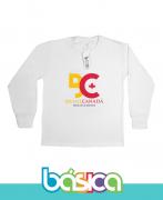 Camiseta Manga Longa Colégio Brasil Canadá