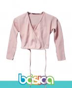 Casaquinho para Ballet Infantil Rosa