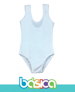 Collant Branco Regata Ballet - Infantil