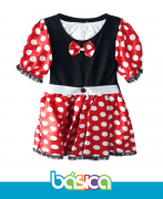 Fantasia Minnie Vermelha