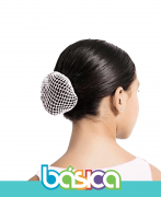 Rede de cabelo para Ballet Branco - Brasil Canadá