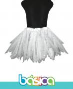 Saia de Tule para Ballet Branco - Brasil Canadá