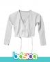 Casaquinho de Ballet Branco - Brasil Canadá