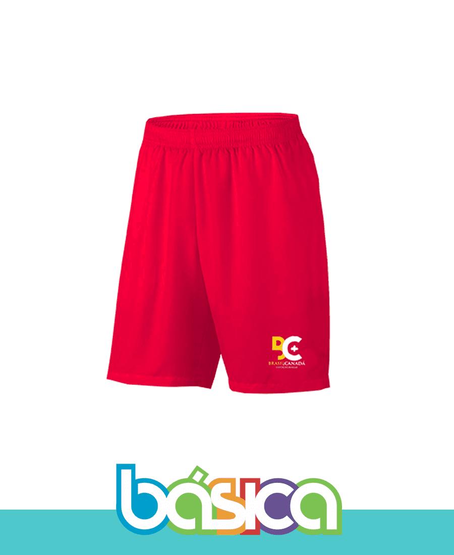Bermuda de Dry Esporte Brasil Canadá  - BÁSICA UNIFORMES