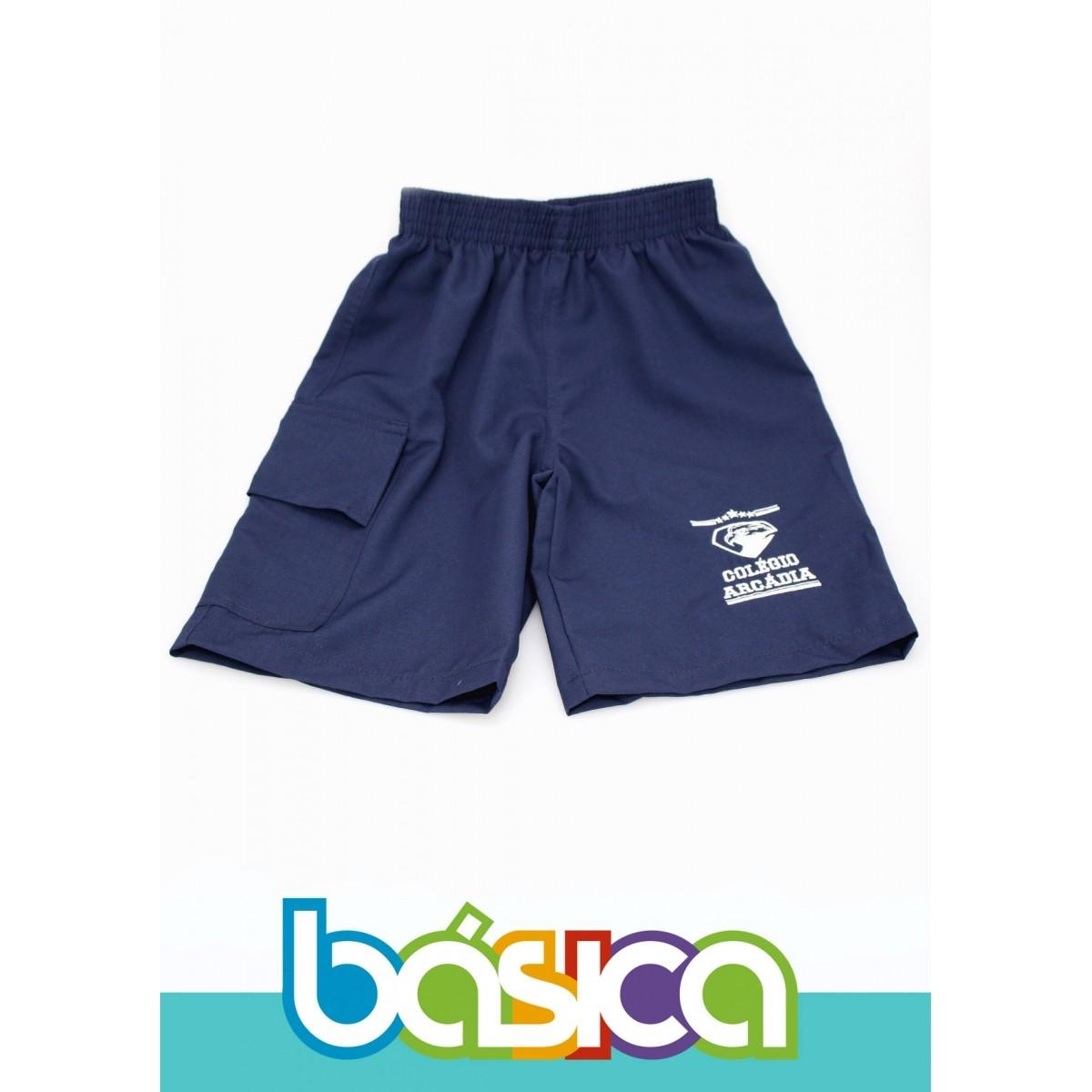 Bermuda de Seletel Colégio Arcádia  - BÁSICA UNIFORMES