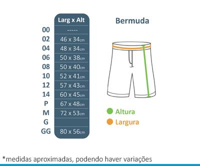 Bermuda Microfibra Lumen Vitae  - BÁSICA UNIFORMES