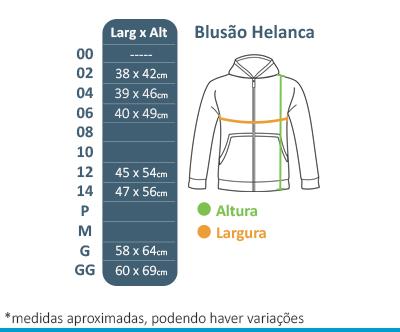 Blusão de Helanca - Colégio Tutor School  - BÁSICA UNIFORMES
