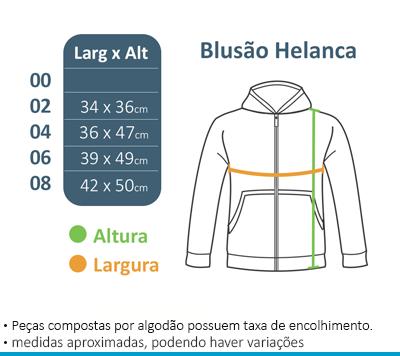 Blusão de Helanca - Vila da Arte  - BÁSICA UNIFORMES