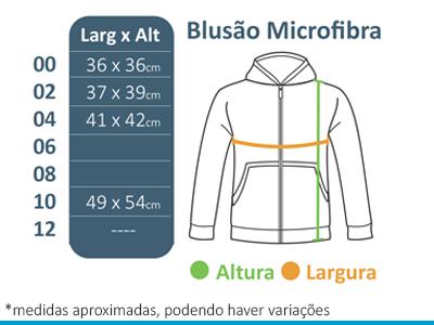 Blusão de Microfibra A Doce Vida  - BÁSICA UNIFORMES