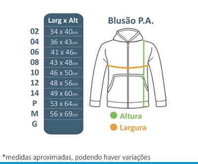 Blusão de P.A. Infantil- Colégio Diáspora  - BÁSICA UNIFORMES