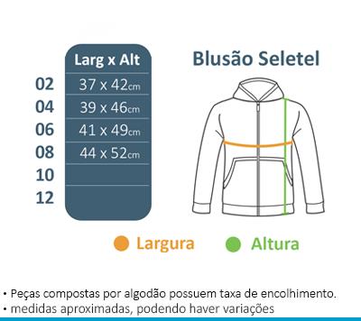 Blusão de Seletel com capuz - Maria Maria  - BÁSICA UNIFORMES