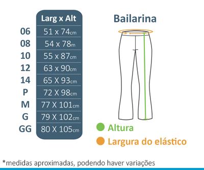 Calça Bailarina FIAP SCHOOL  - BÁSICA UNIFORMES