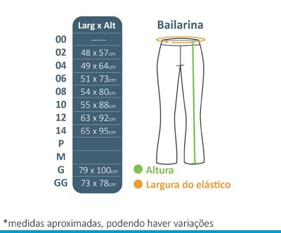 Calça Bailarina Lumen Vitae  - BÁSICA UNIFORMES