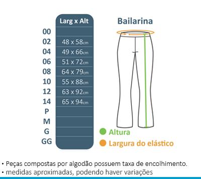 Calça Bailarina - Novo Espaço  - BÁSICA UNIFORMES