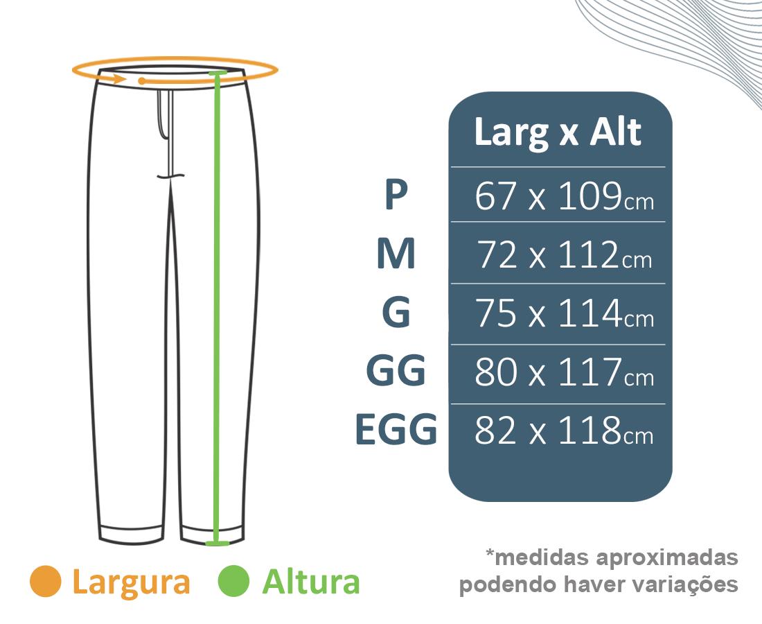 Calça de Brim c/ Elástico  - BÁSICA UNIFORMES