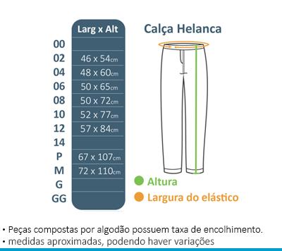 Calça de Helanca - Novo Espaço  - BÁSICA UNIFORMES