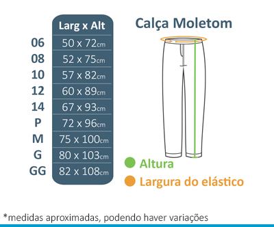 Calça de Moletom Felpado FIAP School  - BÁSICA UNIFORMES