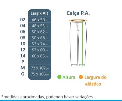 Calça de P.A. - Colégio Diáspora  - BÁSICA UNIFORMES