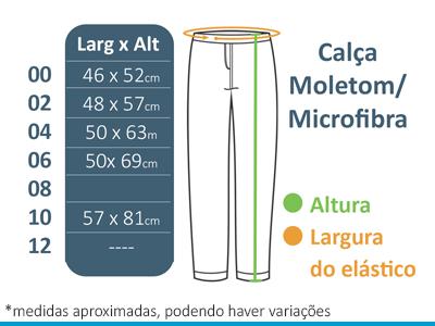 Calça Microfibra Com Forro A Doce Vida  - BÁSICA UNIFORMES