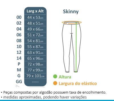 Calça Skinny Colégio Brasil Canadá  - BÁSICA UNIFORMES