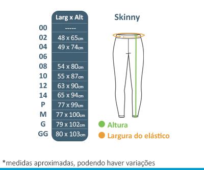 Calça Skinny - Colégio Tutor School  - BÁSICA UNIFORMES