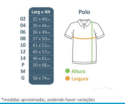 Camisa Polo - Colégio Diáspora  - BÁSICA UNIFORMES