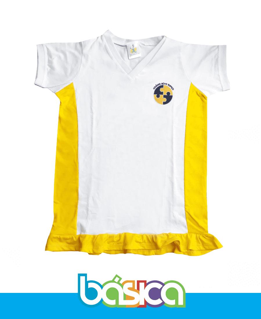 Camiseta Baby Look - Novo Espaço  - BÁSICA UNIFORMES