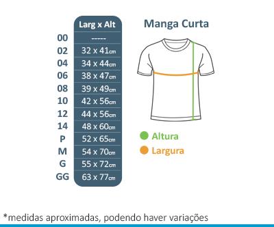 Camiseta Manga Curta Azul Tutor School  - BÁSICA UNIFORMES