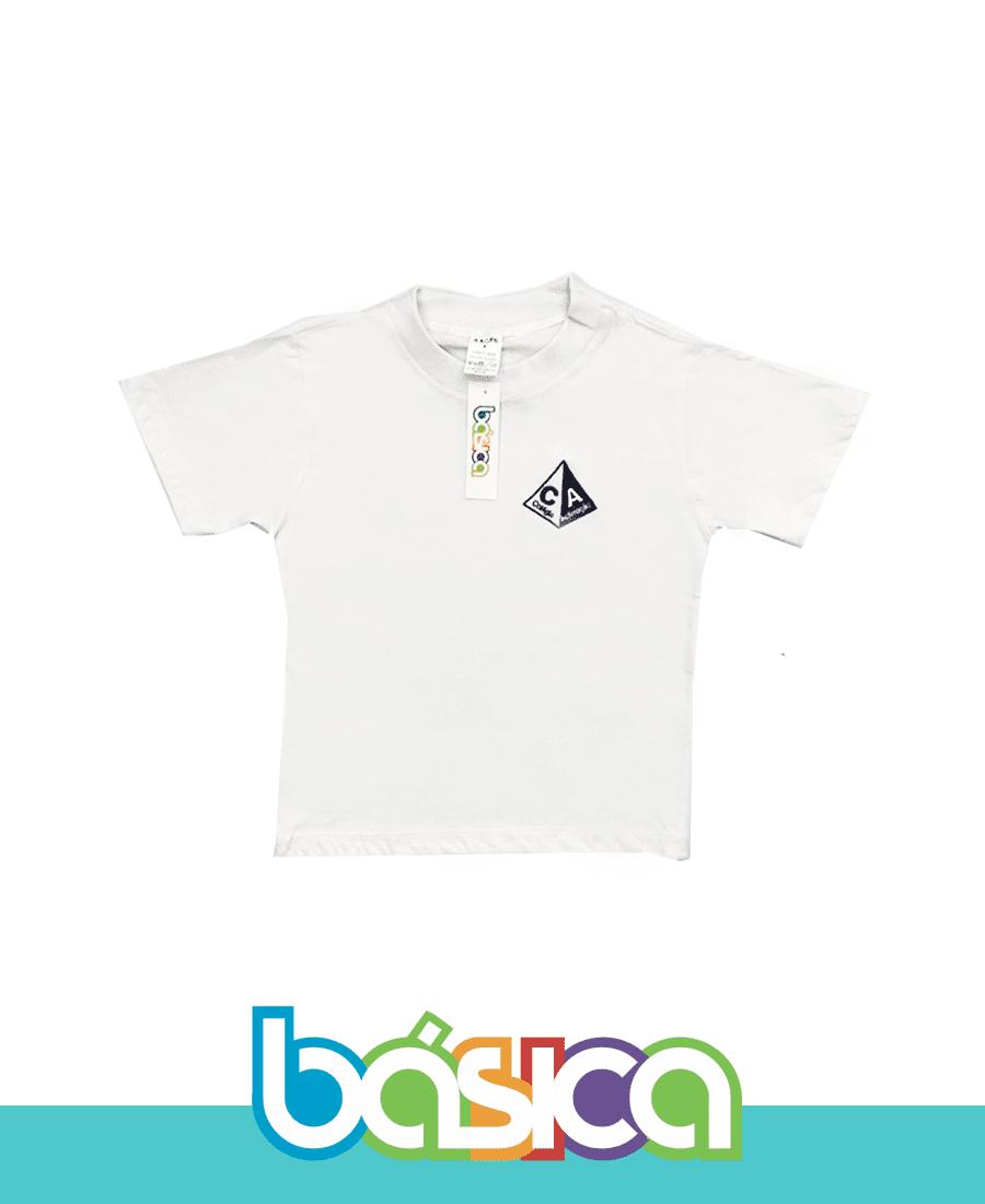 Camiseta Manga Curta - Colégio Aclimação  - BÁSICA UNIFORMES