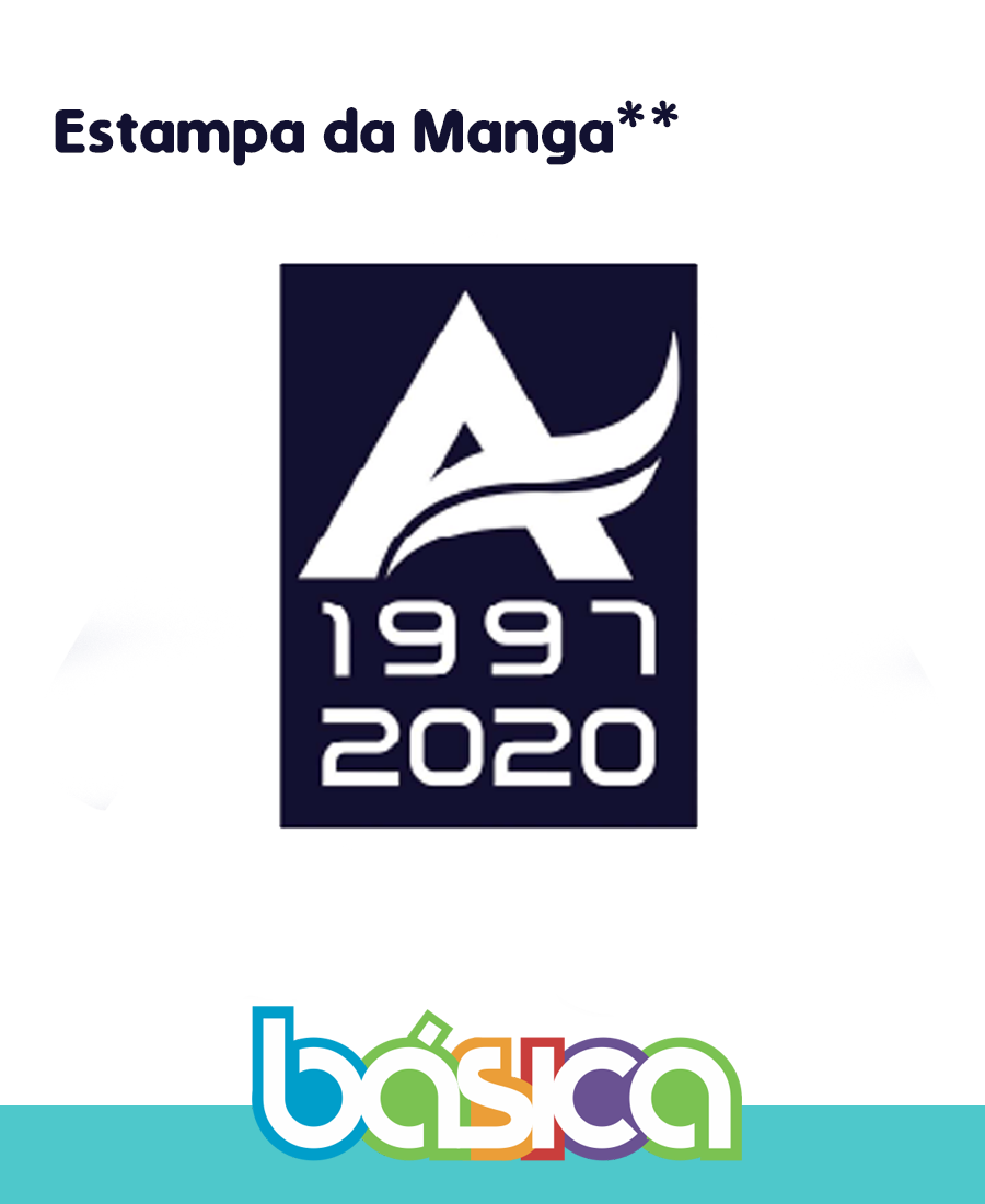 Camiseta Manga Curta Colégio Arcádia  - BÁSICA UNIFORMES
