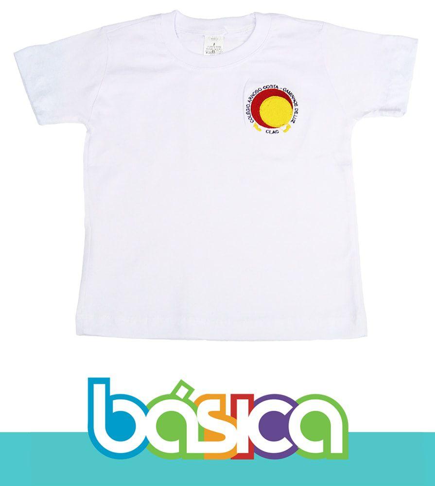 Camiseta Manga Curta Colégio Arnoso Costa  - BÁSICA UNIFORMES