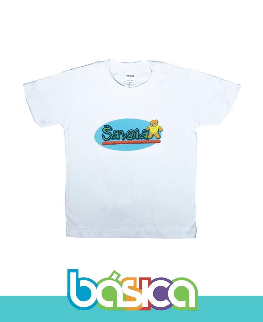 Camiseta Manga Curta - Colégio Savoia  - BÁSICA UNIFORMES