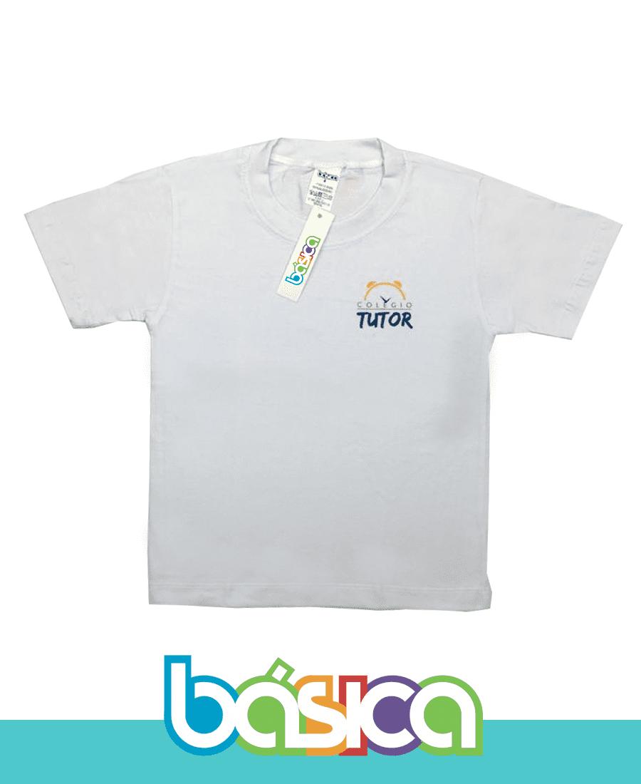 Camiseta Manga Curta - Colégio Tutor School  - BÁSICA UNIFORMES