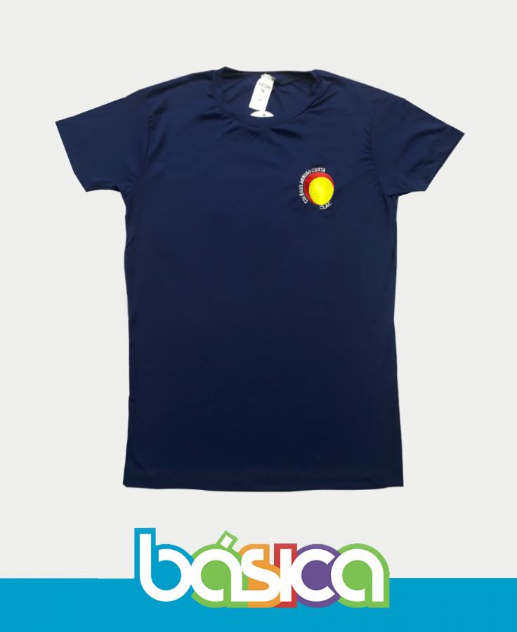 Camiseta Manga Curta Dry Colégio Arnoso Costa  - BÁSICA UNIFORMES