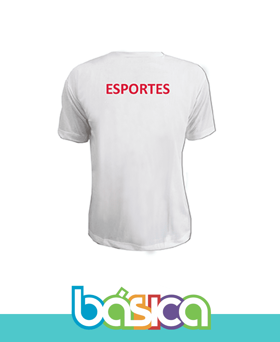 Camiseta Manga Curta Esporte  - BÁSICA UNIFORMES