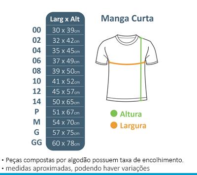 Camiseta Manga Curta Funcionários - Colégio Brasil Canadá  - BÁSICA UNIFORMES