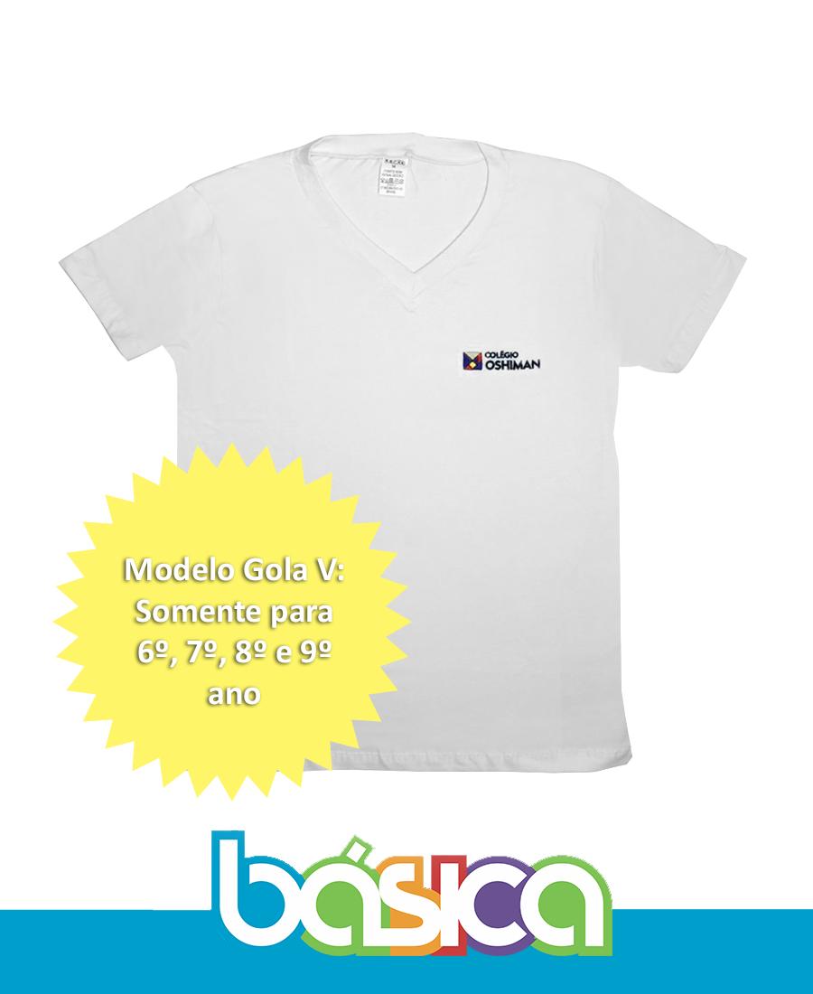 Camiseta Manga Curta Gola