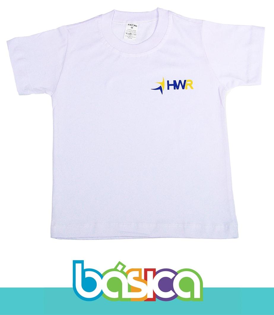 Camiseta Manga Curta Henri Wallon  - BÁSICA UNIFORMES