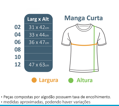 Camiseta Manga Curta - Maria Maria  - BÁSICA UNIFORMES