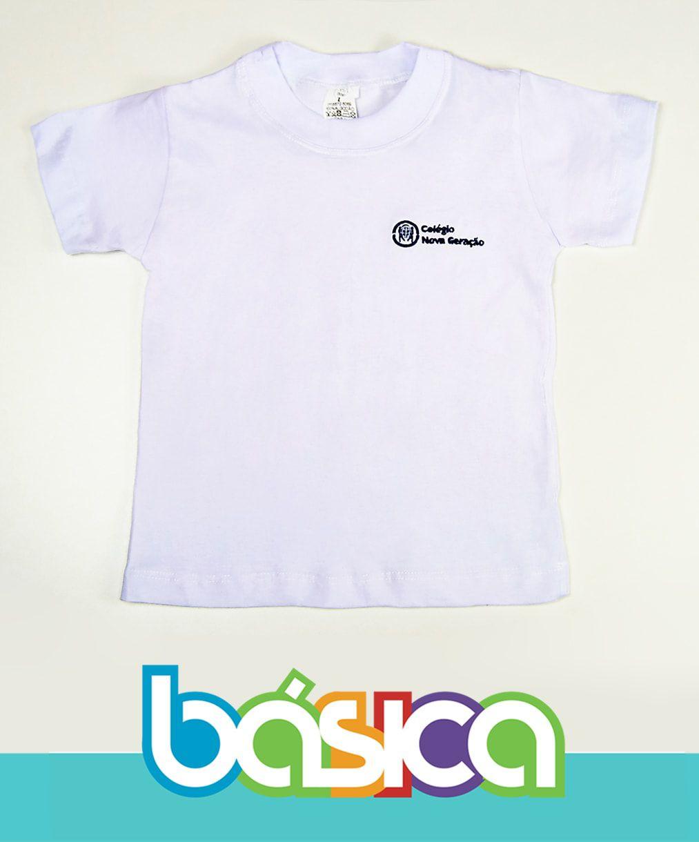 Camiseta Manga Curta Nova Geração  - BÁSICA UNIFORMES