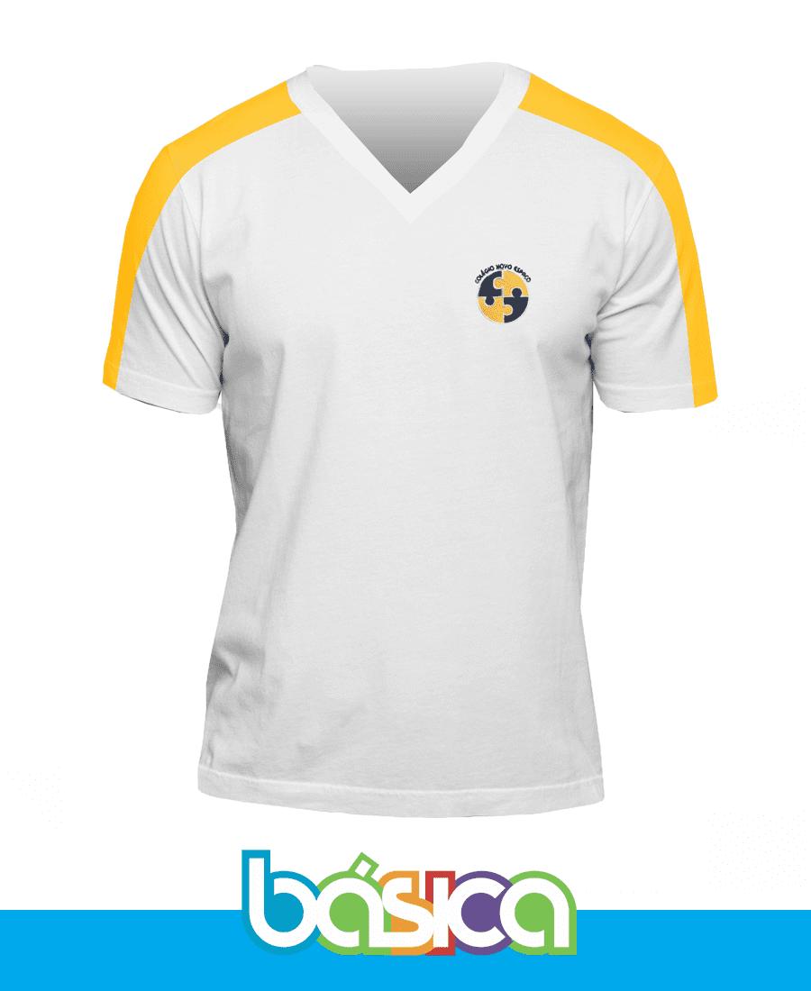 Camiseta Manga Curta - Novo Espaço  - BÁSICA UNIFORMES