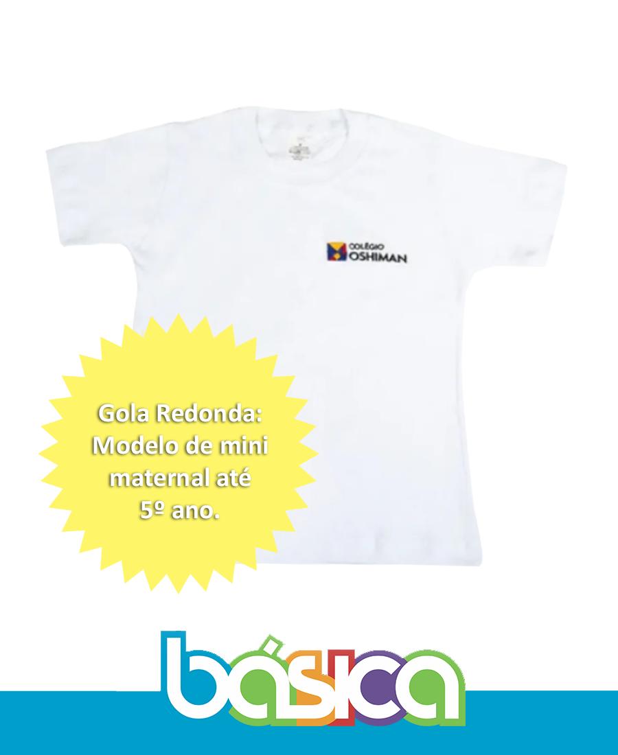 Camiseta Manga Curta Oshiman  - BÁSICA UNIFORMES