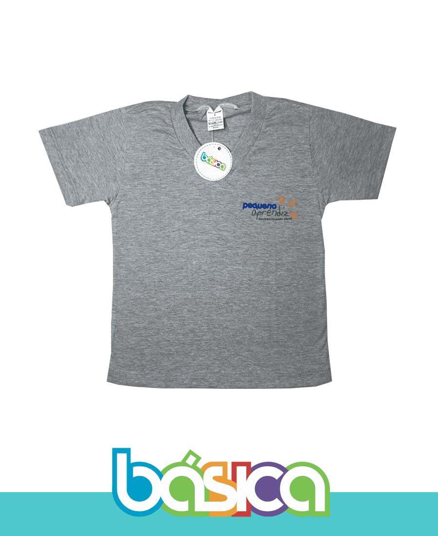 Camiseta Manga Curta - Pequeno Aprendiz  - BÁSICA UNIFORMES