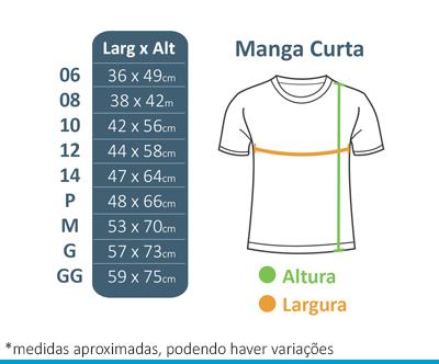 Camiseta Manga Curta Preta FIAP SCHOOL  - BÁSICA UNIFORMES