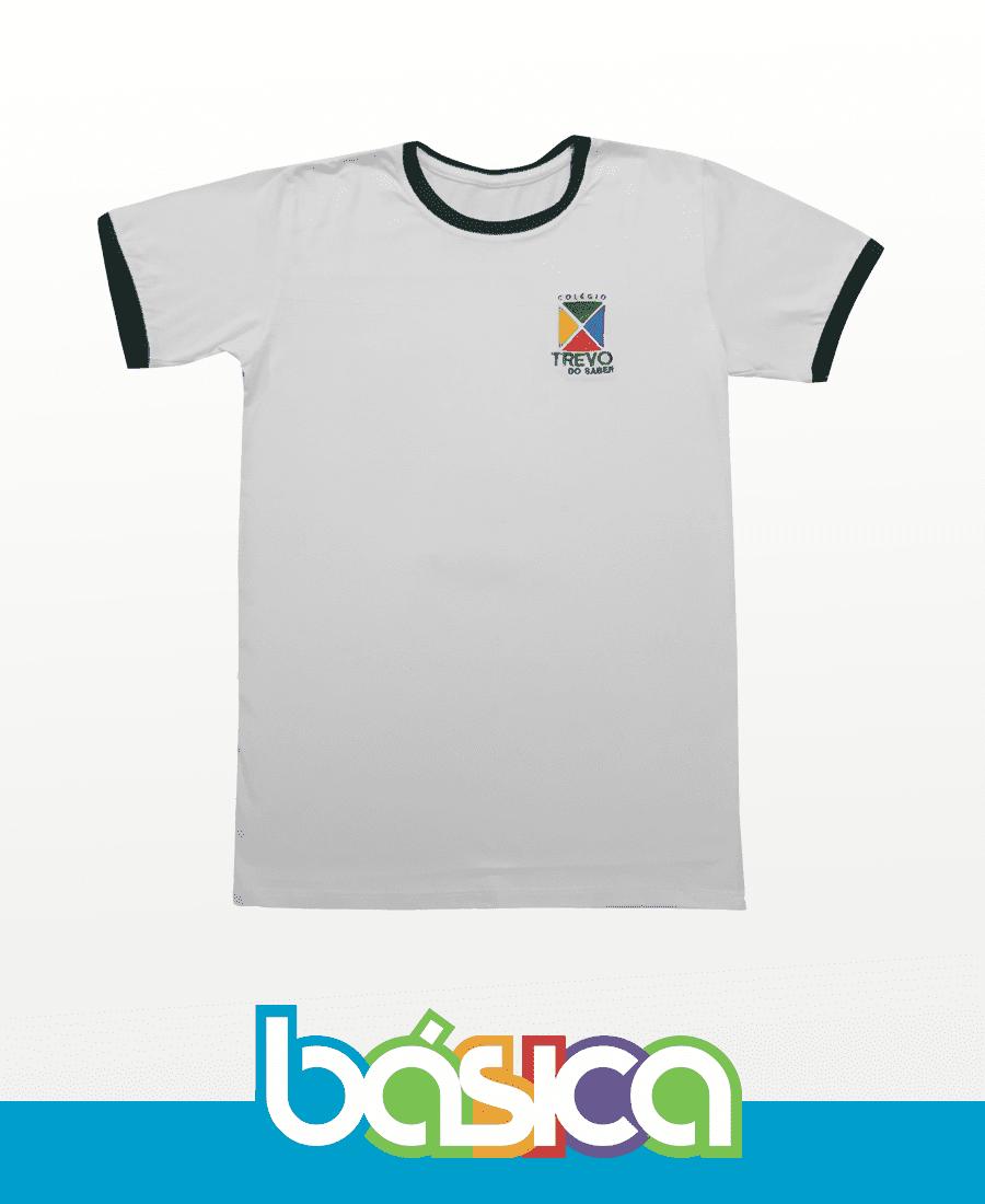 Camiseta Manga Curta - Trevo do Saber  - BÁSICA UNIFORMES