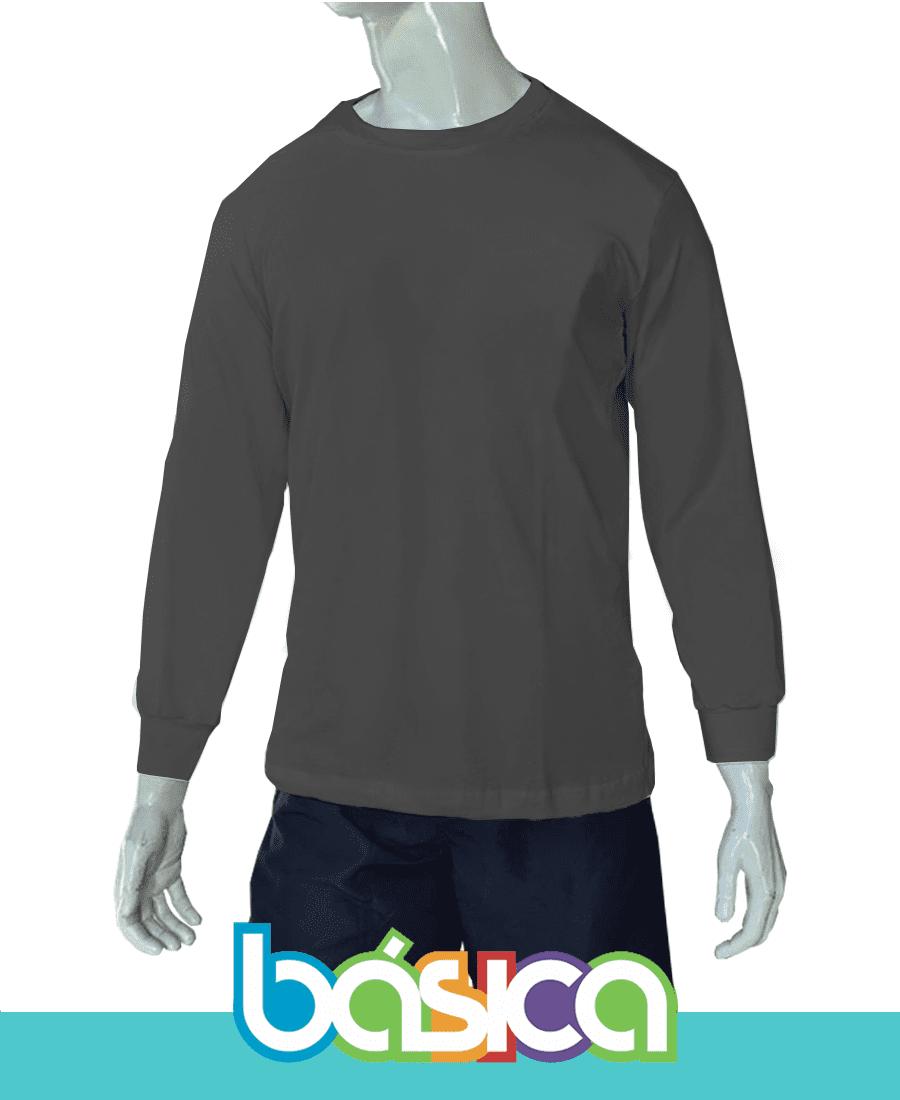 Camiseta Manga Longa Básica  - BÁSICA UNIFORMES