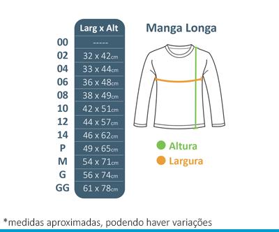 Camiseta Manga Longa Branca Lumen Vitae  - BÁSICA UNIFORMES