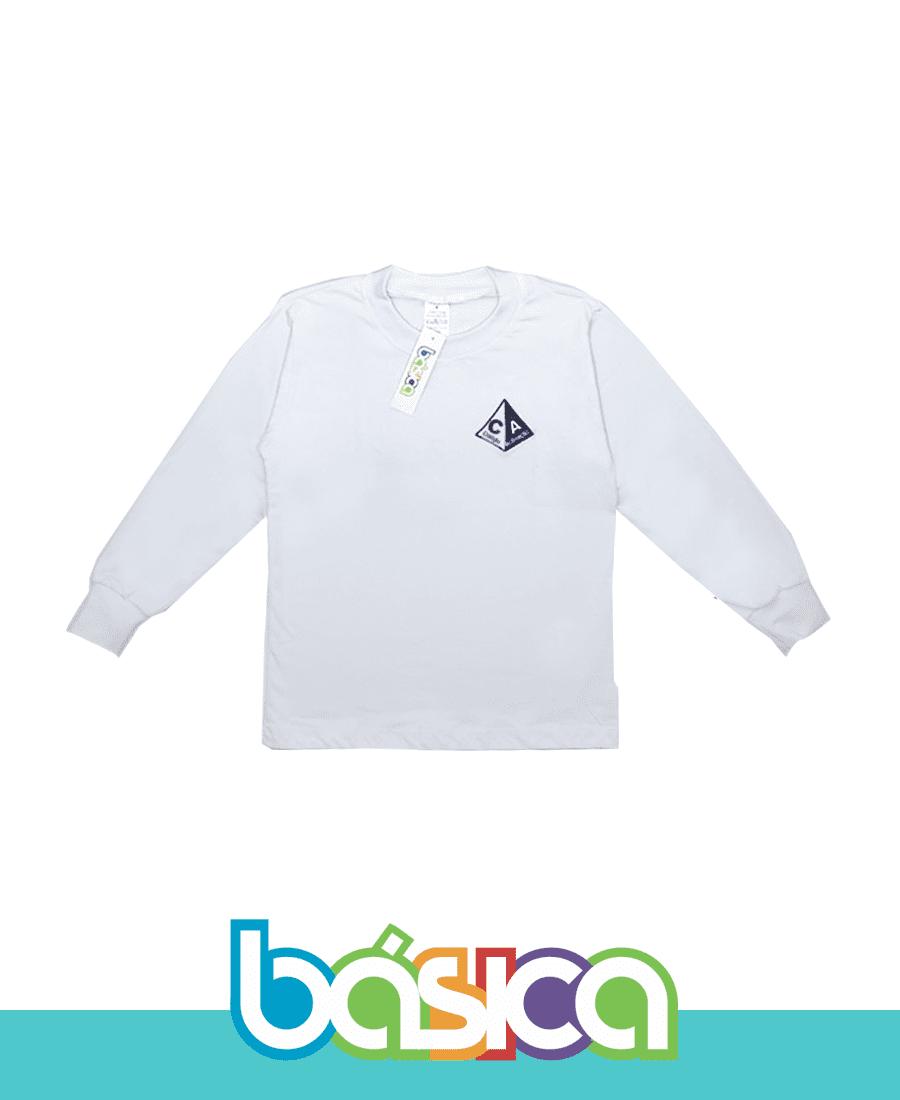Camiseta Manga Longa - Colégio Aclimação  - BÁSICA UNIFORMES