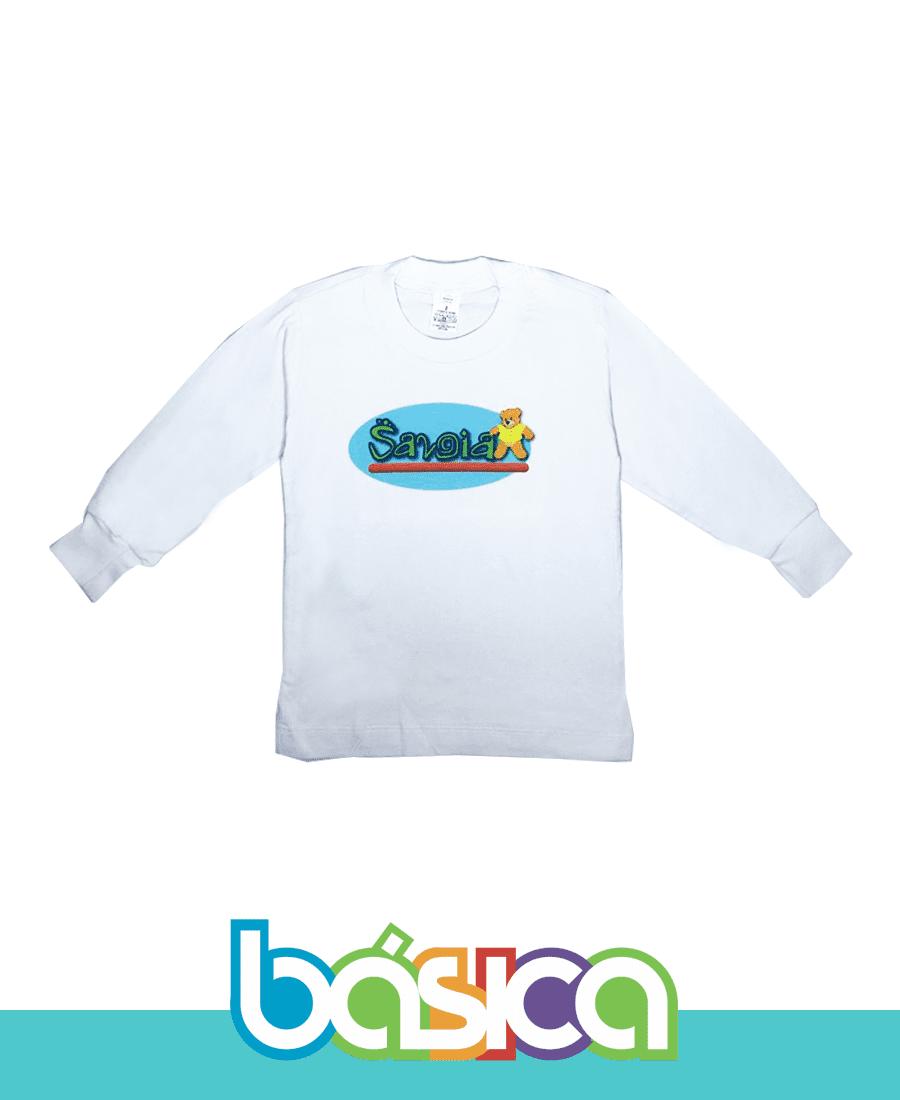 Camiseta Manga Longa - Colégio Savoia  - BÁSICA UNIFORMES